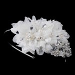 Ivory Floral Applique Headband at LABEShops, Home Decor, Fashion and Jewelry