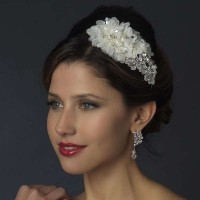 Ivory Floral Applique Headband