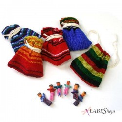 Worry Dolls Handmade Mini Set LABEShops Home Decor, Fashion and Jewelry
