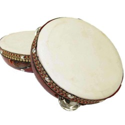 Tambourine Drum 6 Inches LABEShops Home Decor, Fashion and Jewelry