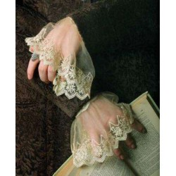 Elizabethan Lace Cuffs LABEShops Home Decor, Fashion and Jewelry
