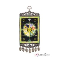 Wheel of the Year Mini Carpet Wall Hanging