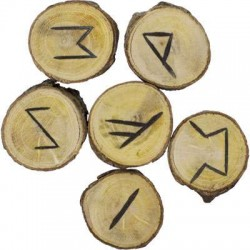 Wood Rune Set LABEShops Home Decor, Fashion and Jewelry