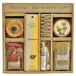 Precious Sandalwood Gift Set by Auroshikha LABEShops Home Decor, Fashion and Jewelry