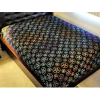 Pentacle Night Multicolor Bedspread
