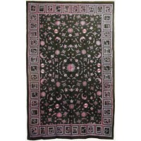 Zodiac Stars Red Full Size Tapestry