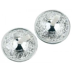 Silver Embossed Zils LABEShops Home Decor, Fashion and Jewelry