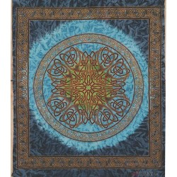 Celtic Print Turquoise Tapestry LABEShops Home Decor, Fashion and Jewelry