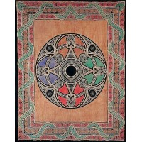 Celtic Print Handloomed Woven Tapestry