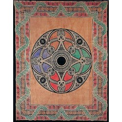 Celtic Print Handloomed Woven Tapestry LABEShops Home Decor, Fashion and Jewelry