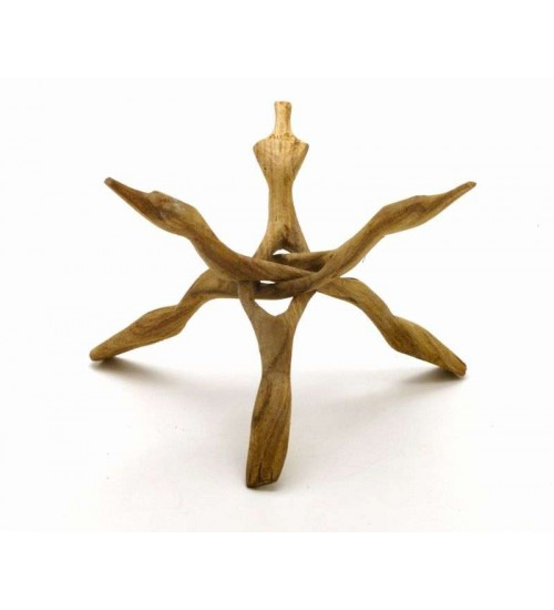 Wood Cobra Stand - 10 Inches at LABEShops, Home Decor, Fashion and Jewelry