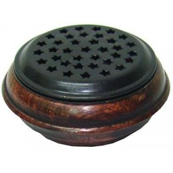 Wood and Metal Incense Censer LABEShops Home Decor, Fashion and Jewelry