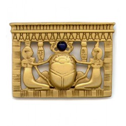 Egyptian Scarab Pectoral Brooch LABEShops Home Decor, Fashion and Jewelry