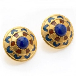 Royal Egyptian Lapis Earrings LABEShops Home Decor, Fashion and Jewelry
