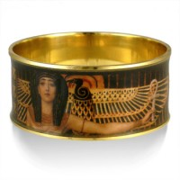 Klimt Cleopatra Egyptian Bangle Bracelet