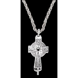 Celtic Cross Aromatherapy Diffuser Pendant LABEShops Home Decor, Fashion and Jewelry