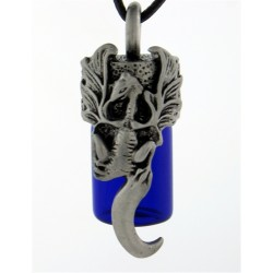 Dragon Essential Oil Bottle Vial Necklace LABEShops Home Decor, Fashion and Jewelry