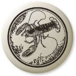 American Lobster Pathfinder Animal Totem Porcelain Necklace