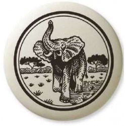 African Elephant Pathfinder Animal Totem Porcelain Necklace LABEShops Home Decor, Fashion and Jewelry