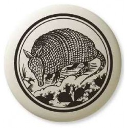 Armadillo Pathfinder Animal Totem Porcelain Necklace LABEShops Home Decor, Fashion and Jewelry
