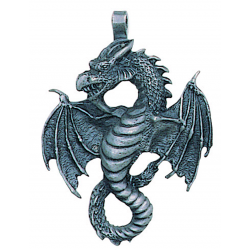Air Dragon Pewter Necklace LABEShops Home Decor, Fashion and Jewelry