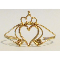 Claddagh Hand Made Bronze Bracelet LABEShops Home Decor, Fashion and Jewelry