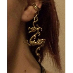 Bronze Dragon Ear Cuff LABEShops Home Decor, Fashion and Jewelry