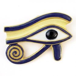 Eye of Horus Brooch/Pendant LABEShops Home Decor, Fashion and Jewelry