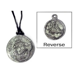 Pisces Zodiac Pewter Necklace LABEShops Home Decor, Fashion and Jewelry