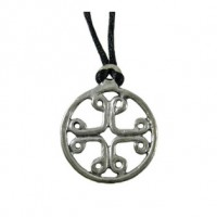 Pilgrims Cross Pewter Necklace