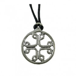 Pilgrims Cross Pewter Necklace LABEShops Home Decor, Fashion and Jewelry