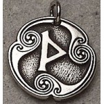 Wynn - Rune of Joy Pewter Talisman at LABEShops, Home Decor, Fashion and Jewelry