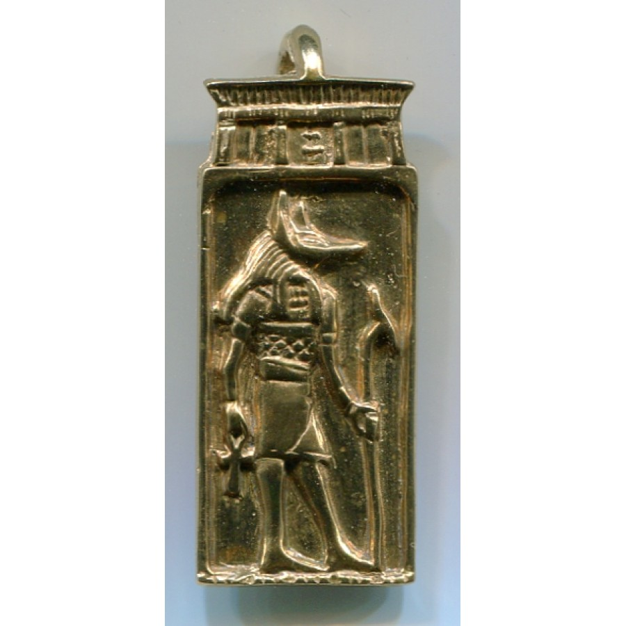 Anubis Egyptian God Pendant In Sterling Silver Or Bronze Egyptian Jewelry