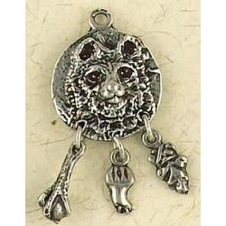 Bear Animal Spirit Pewter Necklace LABEShops Home Decor, Fashion and Jewelry