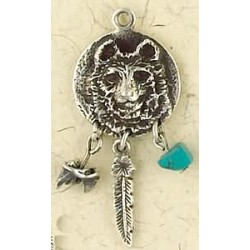 Bear Animal Spirit Sterling Slver Necklace LABEShops Home Decor, Fashion and Jewelry