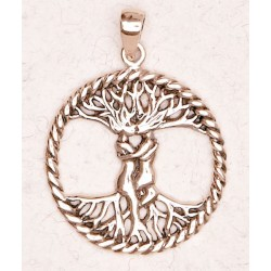 Lovers Tree of Life Bronze Necklace LABEShops Home Decor, Fashion and Jewelry