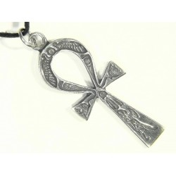 Ankh Inscribed Pewter Necklace LABEShops Home Decor, Fashion and Jewelry