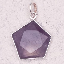 Amethyst 5 Point Prisma Star Pendant LABEShops Home Decor, Fashion and Jewelry