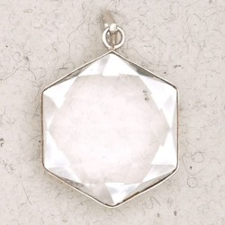 Clear Quartz 6 Point Prisma Star Pendant LABEShops Home Decor, Fashion and Jewelry
