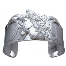 Moon Goddess Sterling Silver Cuff Bracelet LABEShops Home Decor, Fashion and Jewelry