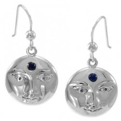 Blue Moon Laurie Cabot Sterling Earrings LABEShops Home Decor, Fashion and Jewelry