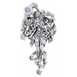 Moon Goddess Sterling Pendant LABEShops Home Decor, Fashion and Jewelry