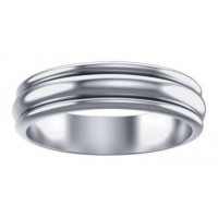 Plain Sterling Silver Fidget Spinner Ring