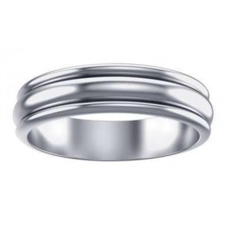 Plain Sterling Silver Fidget Spinner Ring At LABEShops Home Decor Fashion And Jewelry
