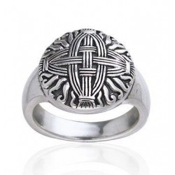 Celtic Cross of St Brigid Silver Ring LABEShops Home Decor, Fashion and Jewelry