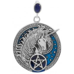 Celtic Unicorn Pentacle Laurie Cabot Pendant LABEShops Home Decor, Fashion and Jewelry