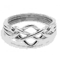 4 Band Open Turkish Puzzle Ring LABEShops Home Decor, Fashion and Jewelry