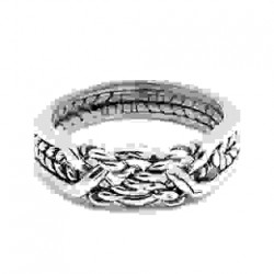 4 Band Twist Turkish Puzzle Ring LABEShops Home Decor, Fashion and Jewelry