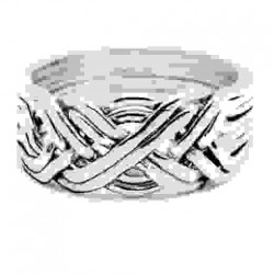 8 Band Heavy Turkish Puzzle Ring LABEShops Home Decor, Fashion and Jewelry