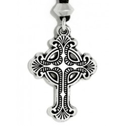 Baroque Celtic Cross Necklace